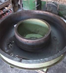 vibrador Rösler de 1900 mm de diámetro